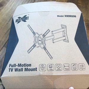 USX MOUNT Full Motion Swivel Tilt TV Mount Bracket